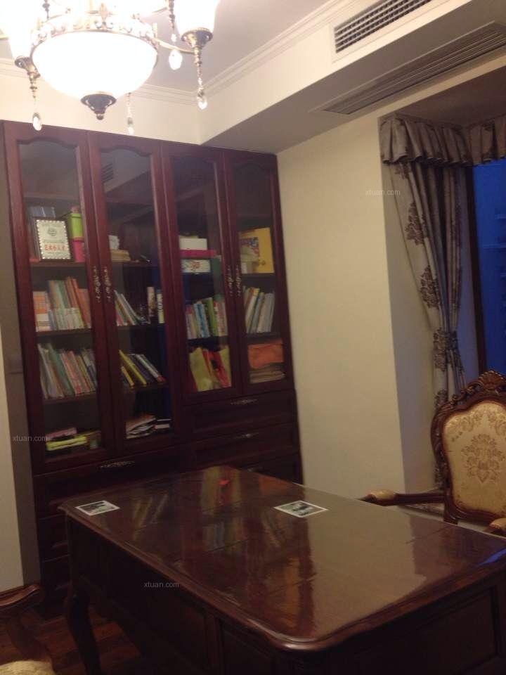 四居室简欧风格书房