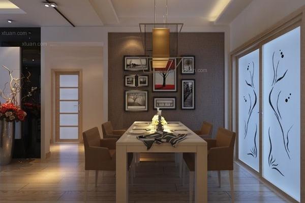 经典明苑87平米现代风格