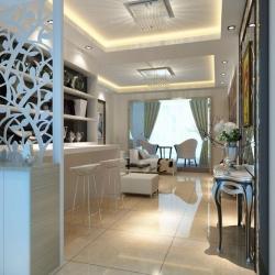 烟台实创装饰-荣大东海岸-简单时尚现代简约风