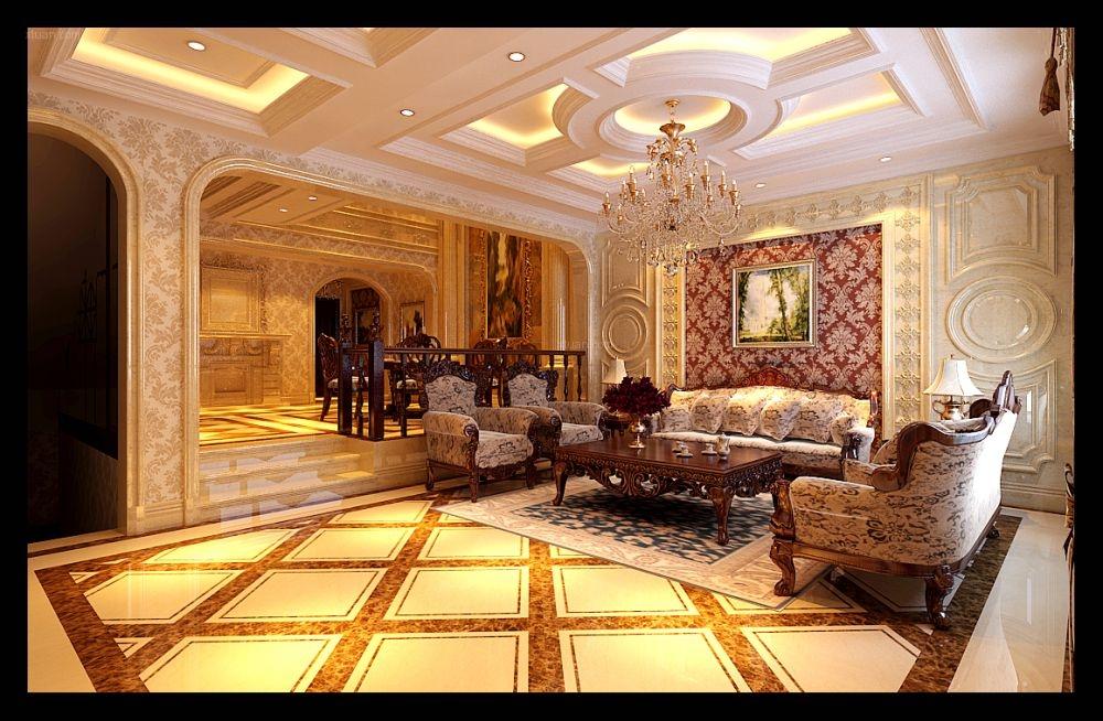 别墅欧式风格餐厅图片