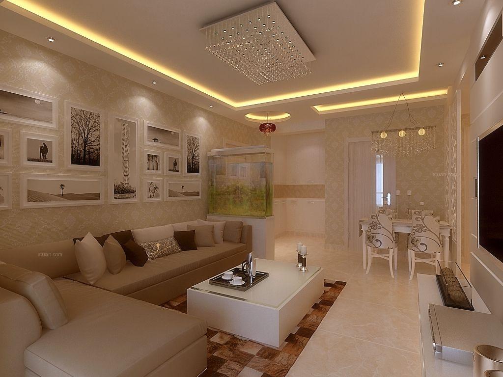 求两室一厅装修设计方案