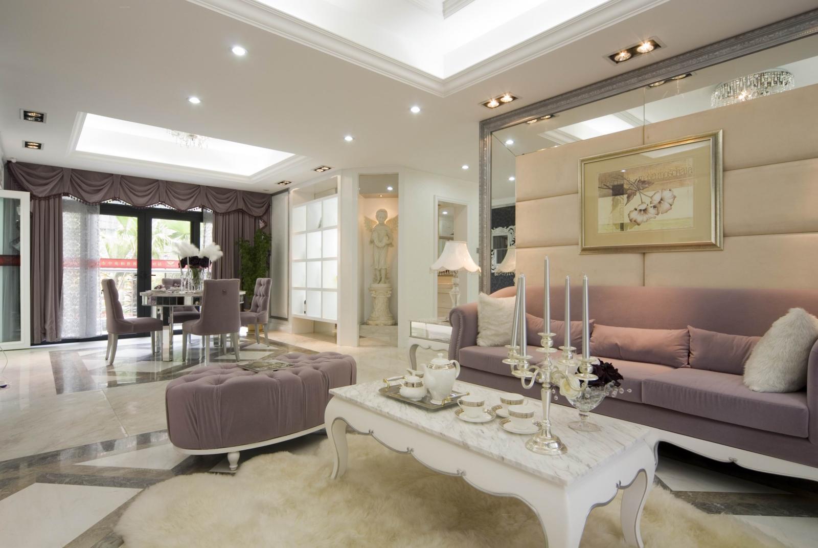 别墅欧式风格客厅图片