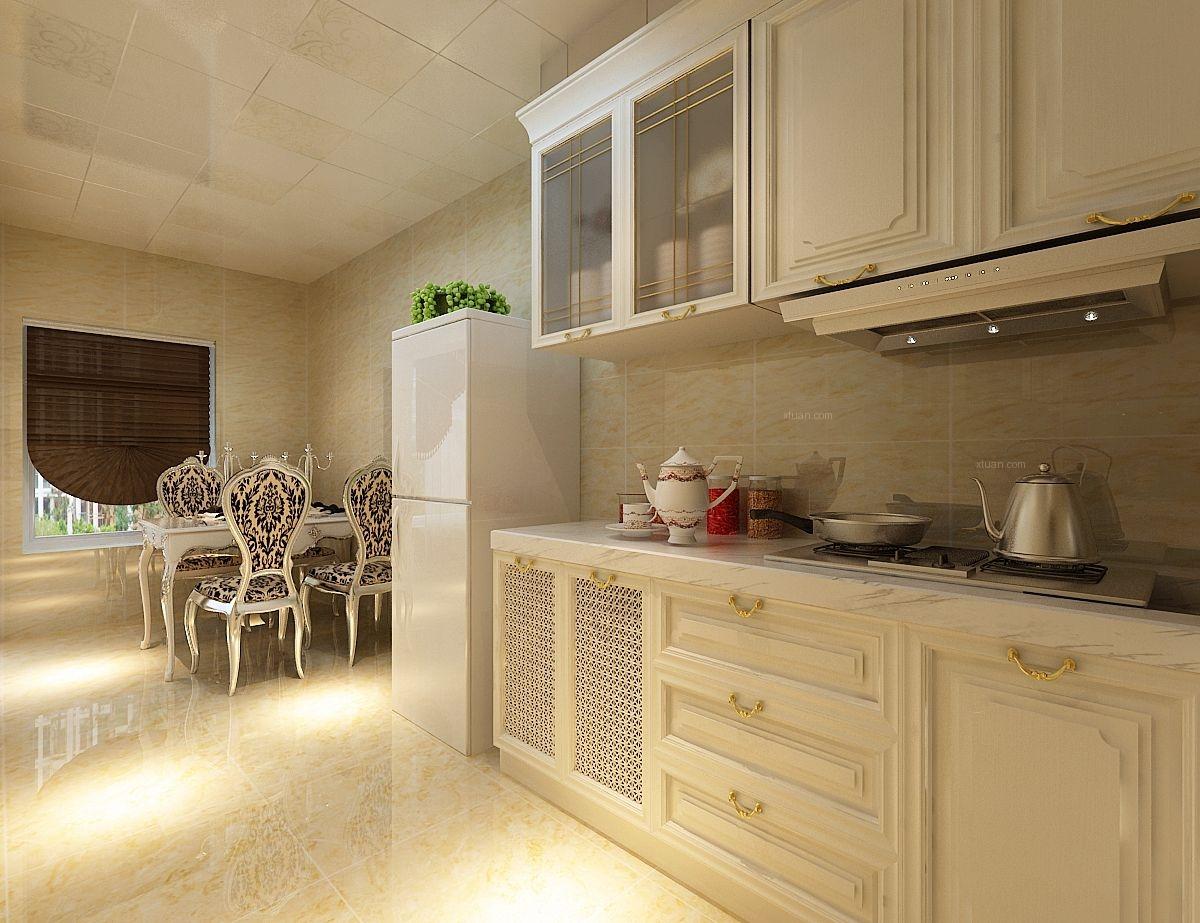 loft简欧风格厨房图片