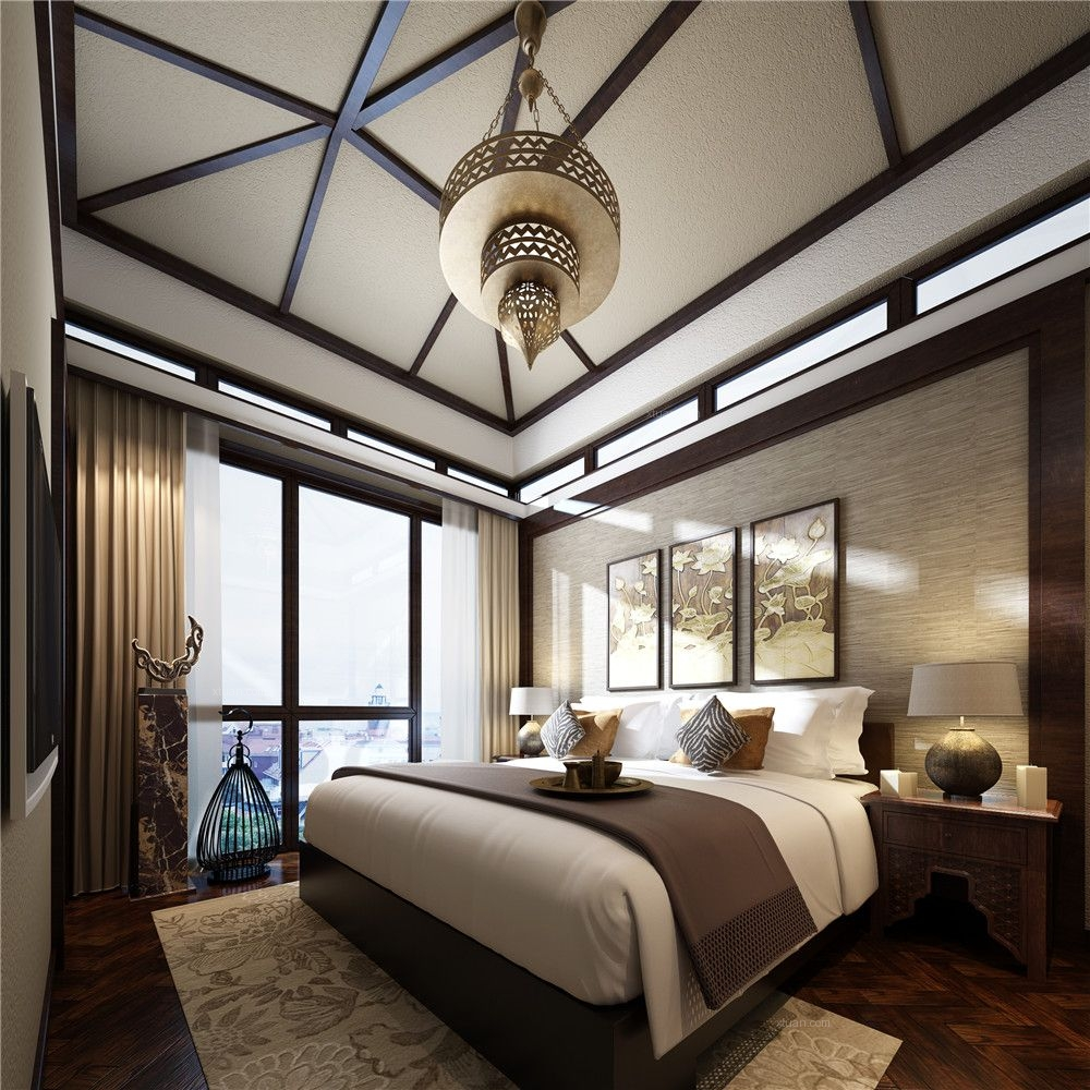 东南亚卧室