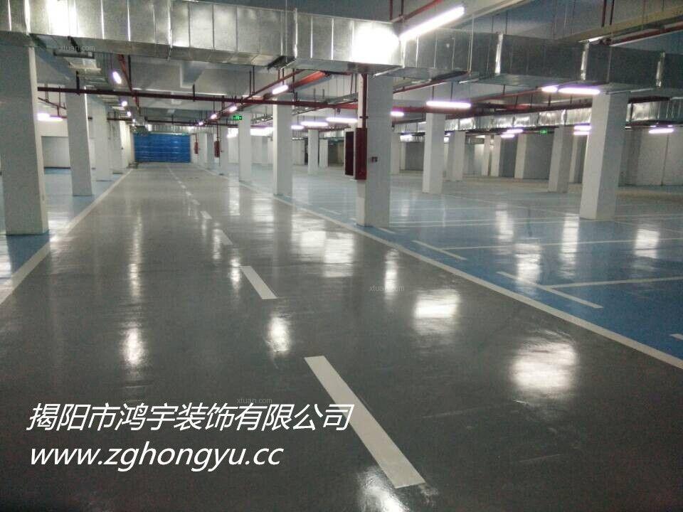 揭阳市小区地下停车库