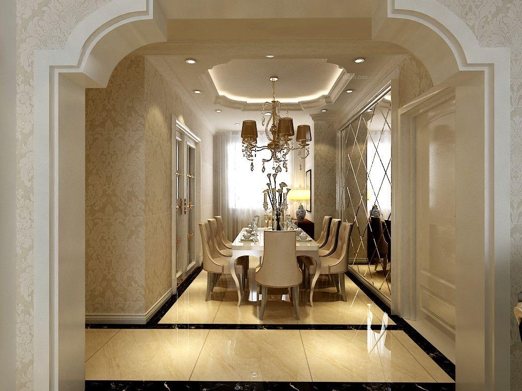 两室一厅简欧风格客厅_保利西湖林语90简欧装修效果图图片
