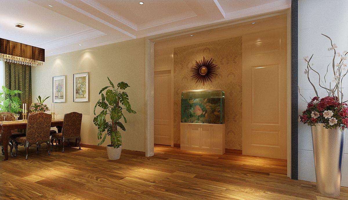 四居室北欧风格客厅家庭影院