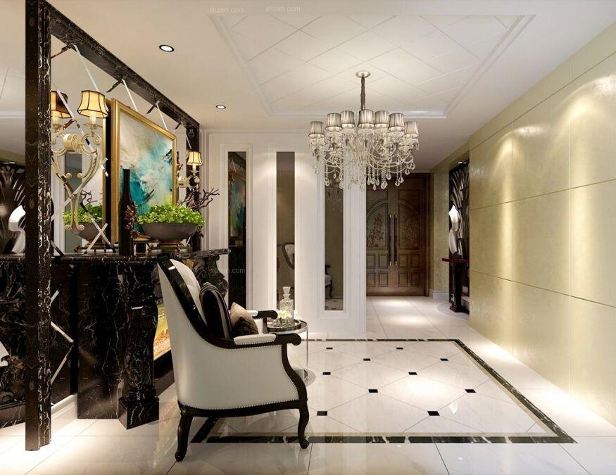 两室两厅欧式风格玄关