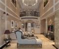 南宁最好的装修公司_南宁龙发装饰莱茵湖畔复式装修设计简欧风格