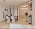 秦皇岛百强装饰装修效果图南岭国际两居室装修简约风格