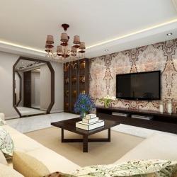 泰和公寓|新中式风格|四室两厅两卫