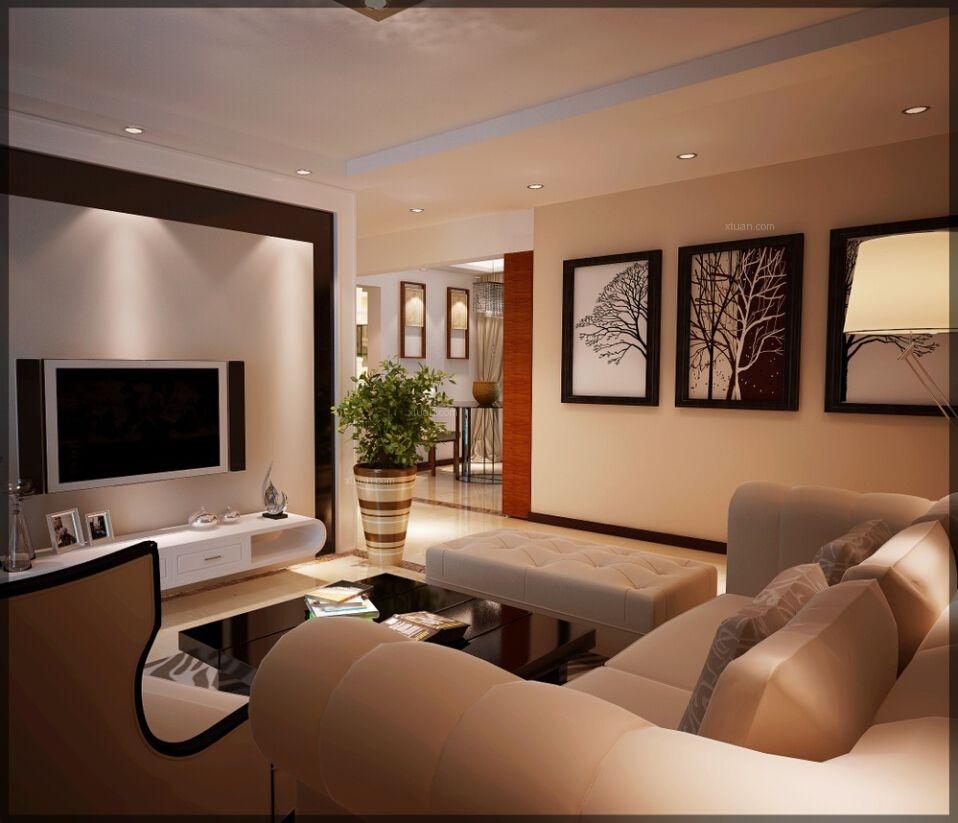 三室两厅现代风格休闲区