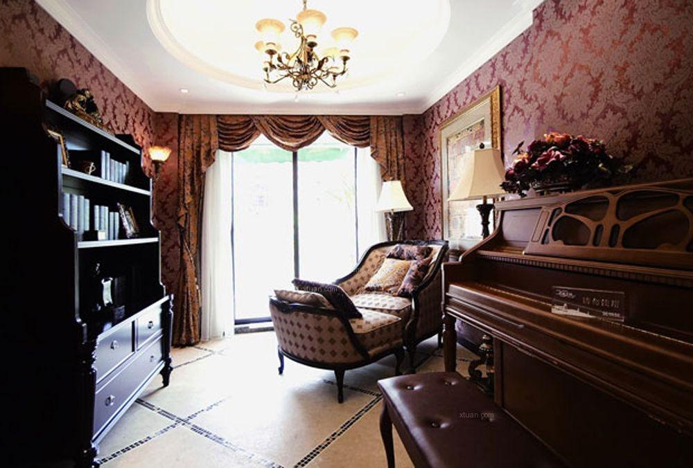 四居室古典风格书房