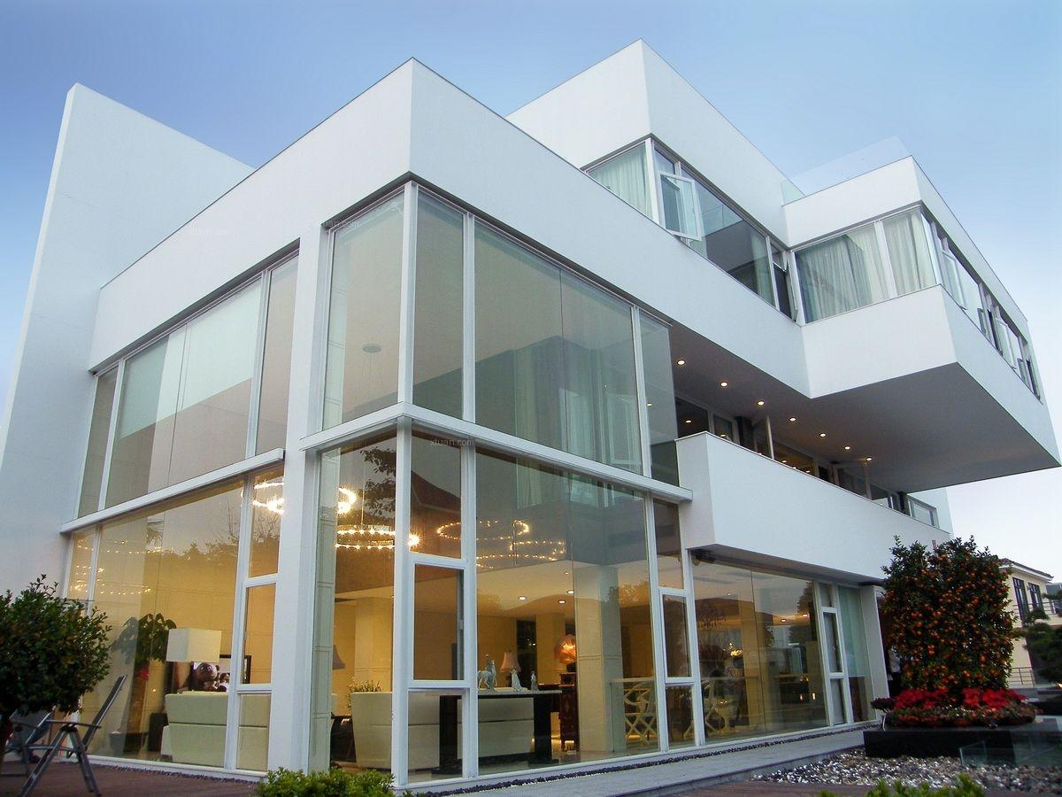 独栋别墅现代风格别墅_顺德碧桂园方宅装修效果图-x团花园租到泰国图片