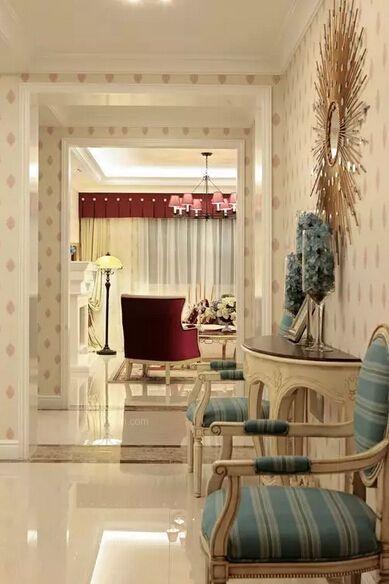 四居室美式风格过道