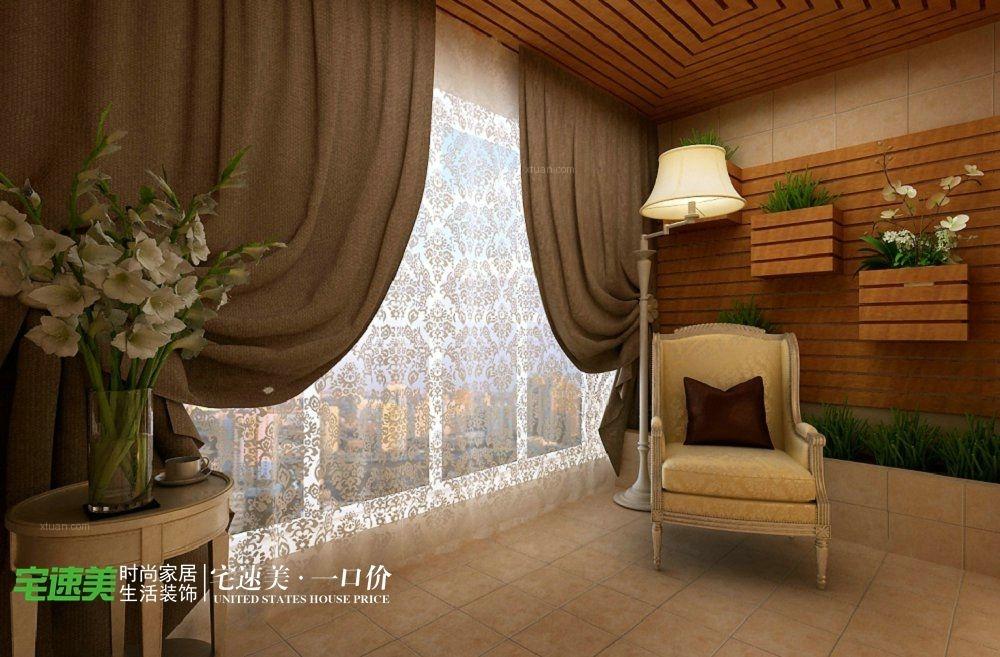 四居室欧式风格卧室榻榻米