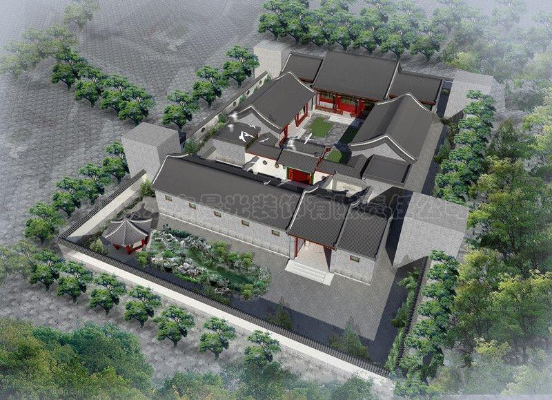 专业四合院设计住宅设计