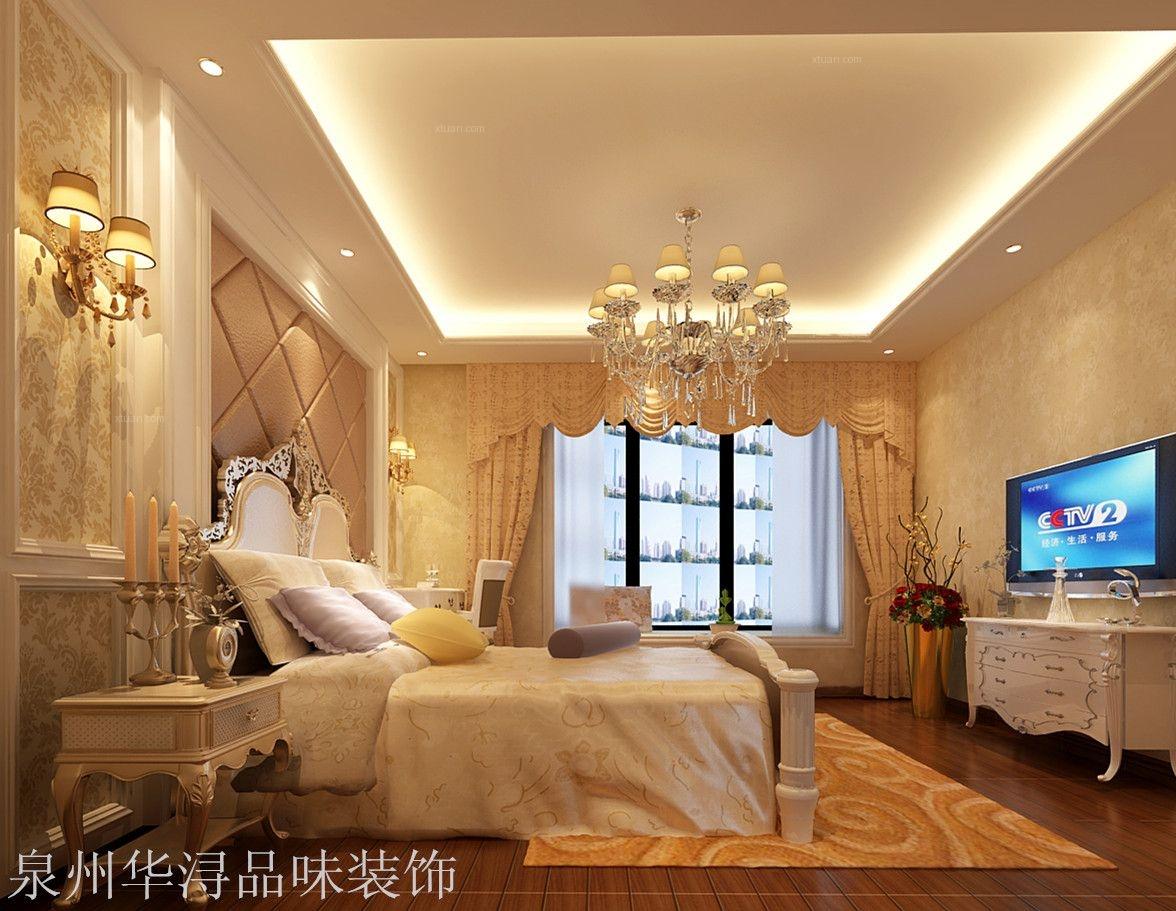 两室一厅简欧风格卧室图片