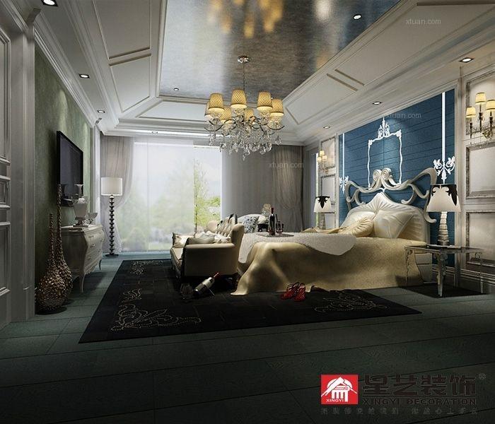 别墅新古典主卧室