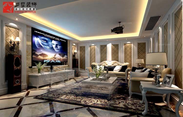 独栋别墅欧式风格客厅