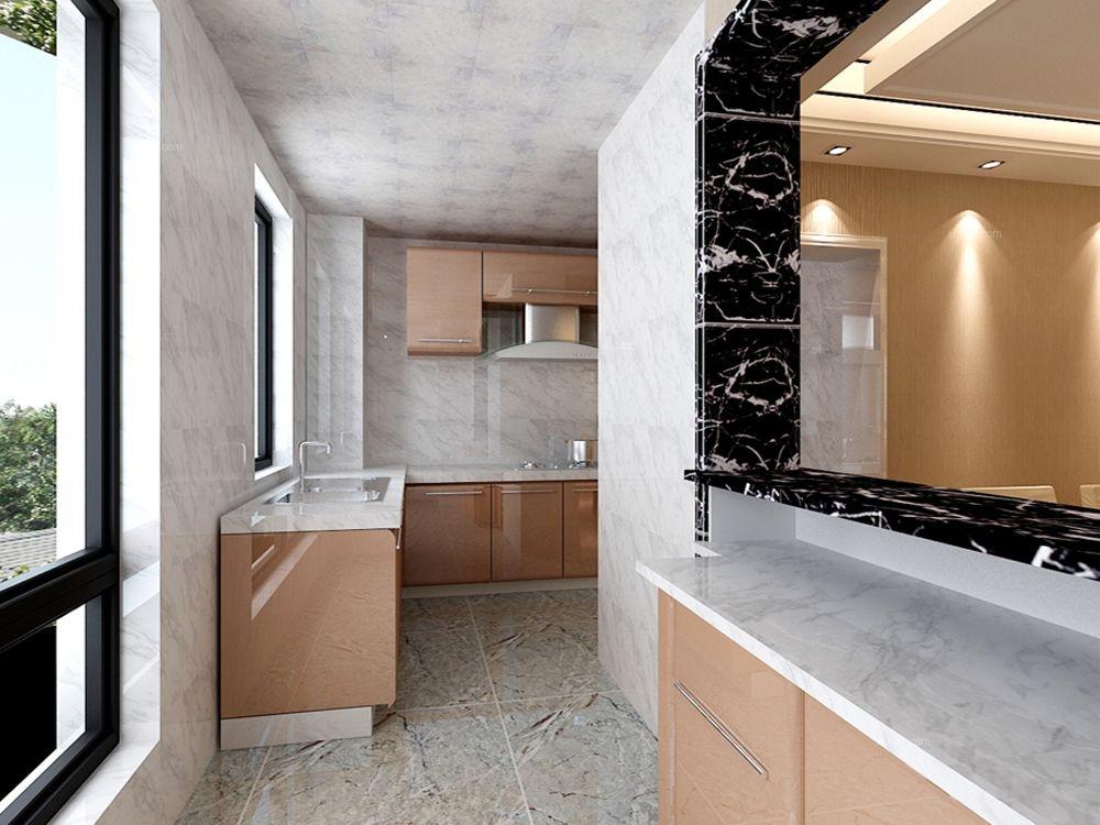 三室两厅时尚风格厨房图片