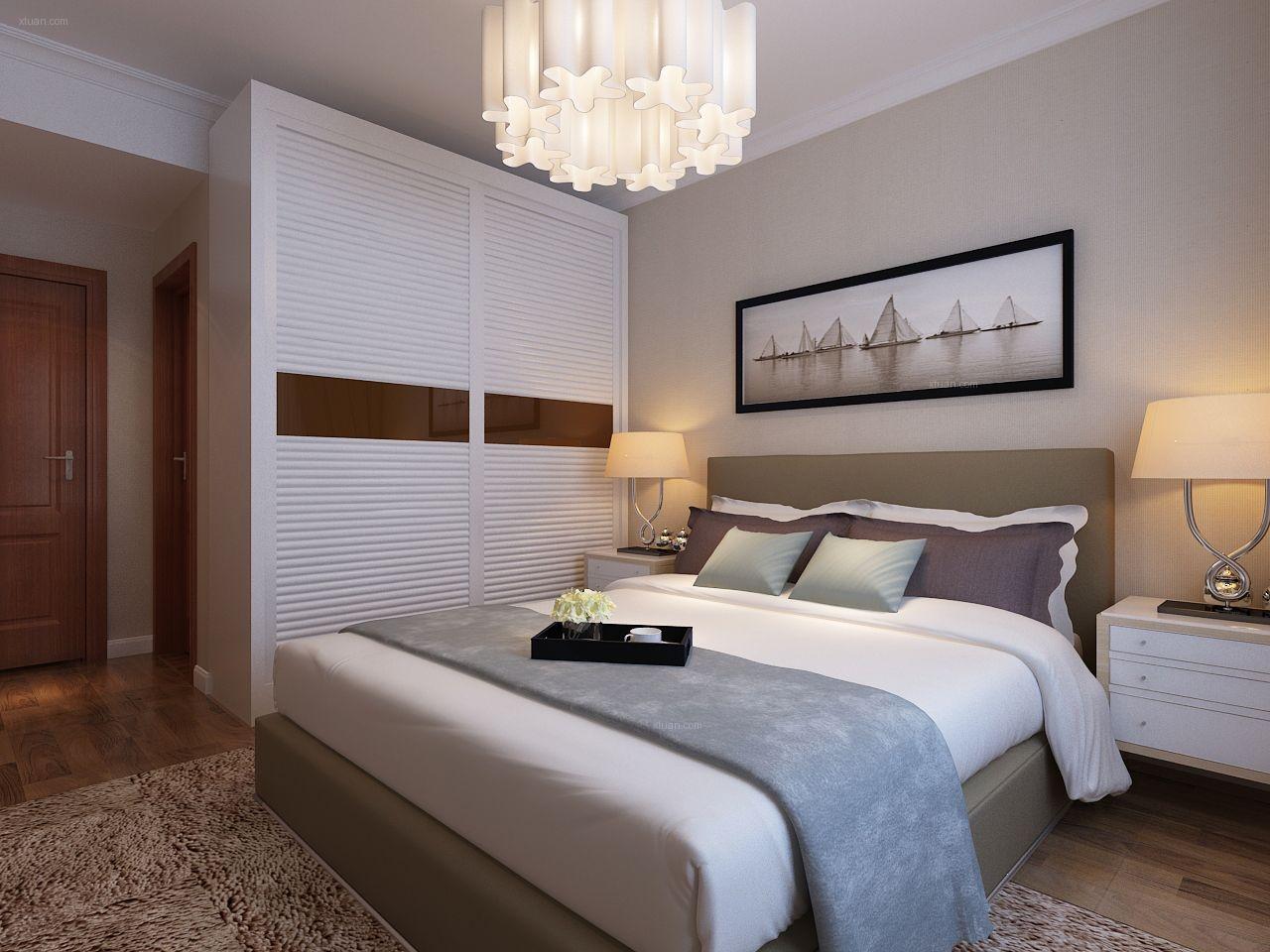 背景墙 房间 家居 设计 卧室 卧室装修 现代 装修 1280_960