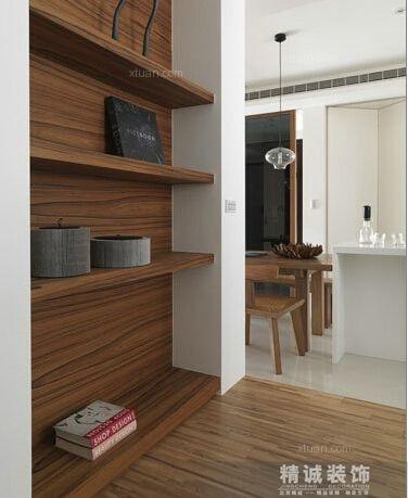两居室现代风格书房软装