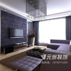 华元一世界125平米现代风格
