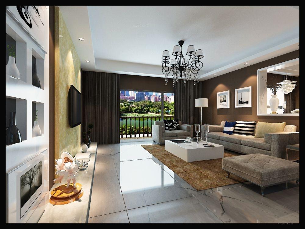 田园牧歌-4万打造127平现代家居风格