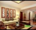 鸿瑞熙龙湾142平四室两厅新中式风格