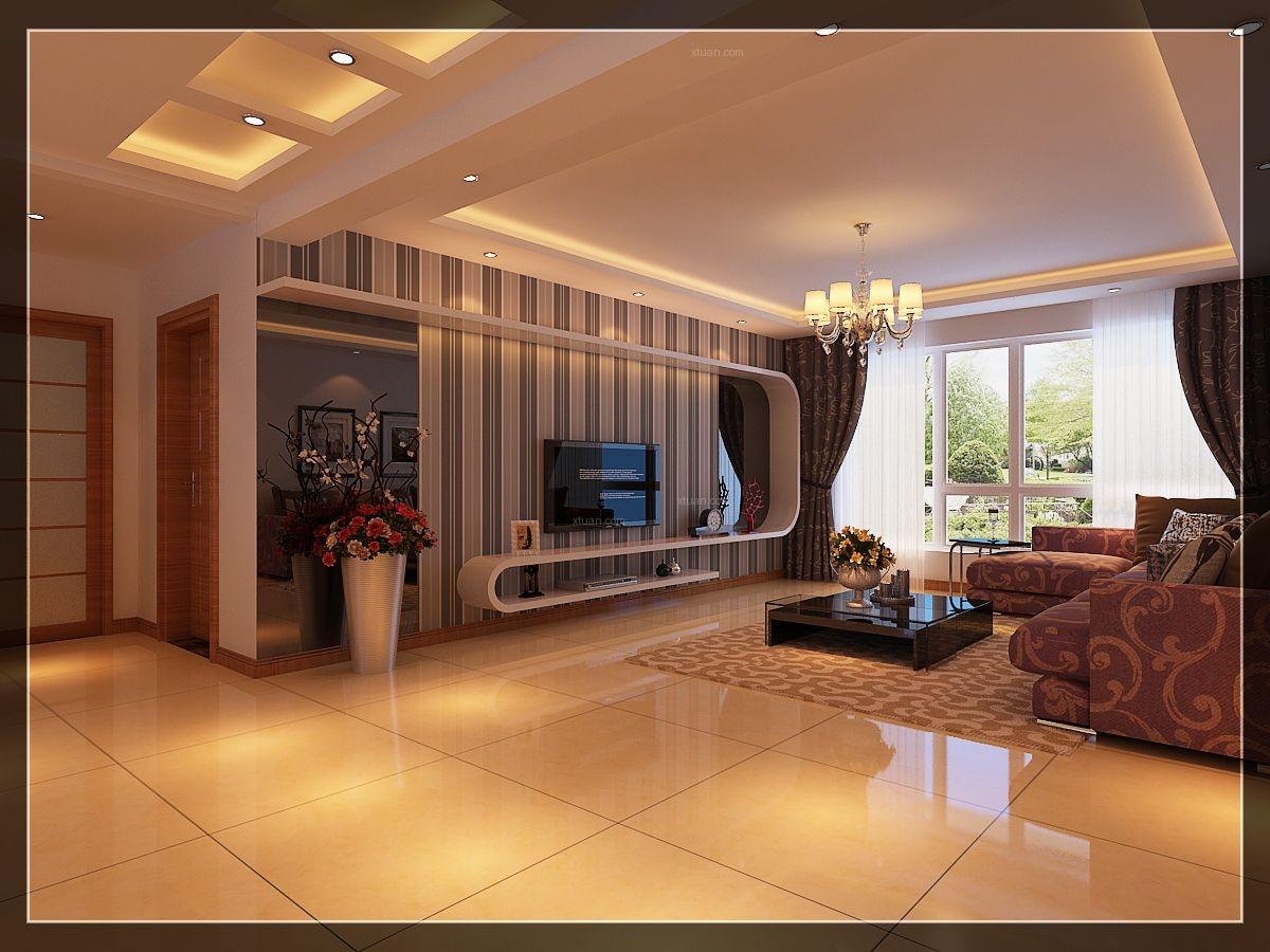 跃层欧式风格客厅