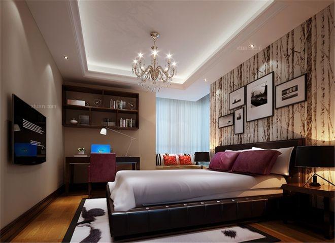 龙山华府 三居室 新中式风格