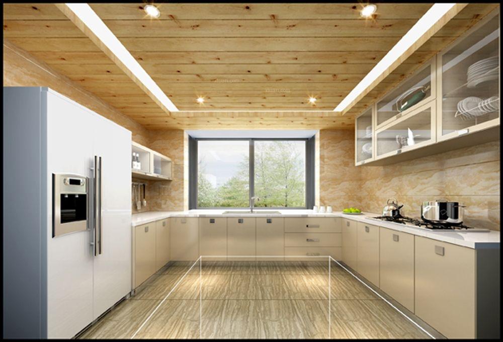 复式楼现代简约厨房