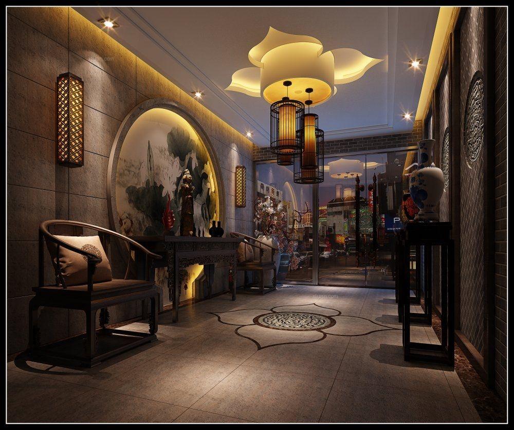 中式风格茶馆图片