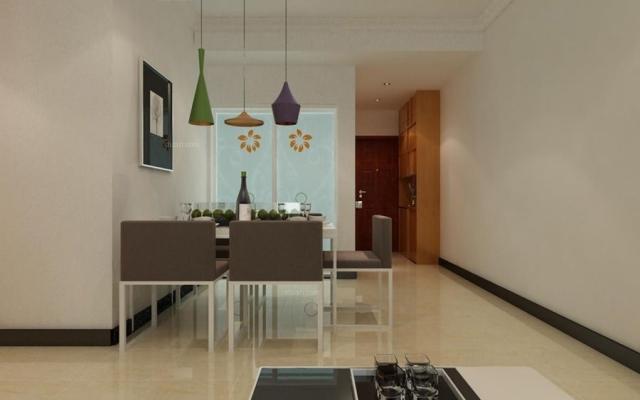 COCO蜜城85平米三室两厅现代风格