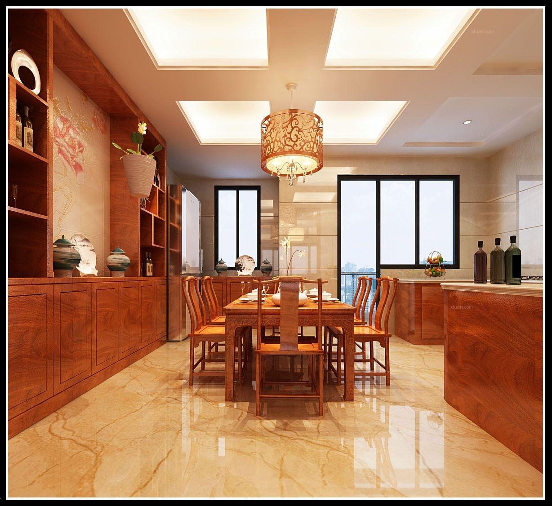 四居室简约风格餐厅
