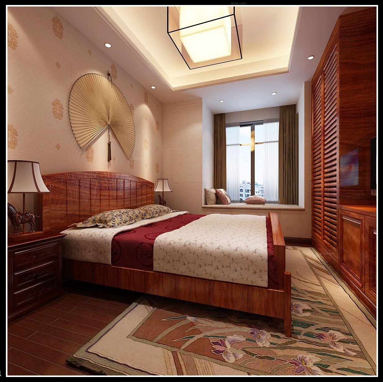 四居室简约风格卧室