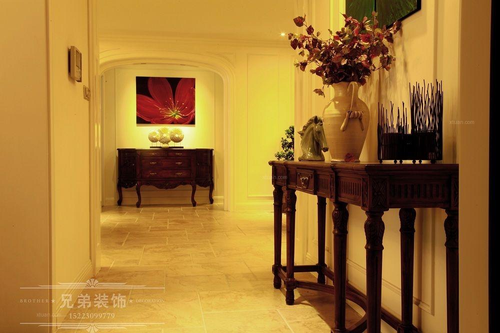 重庆珊瑚水岸装修设计|兄弟欧式风格别墅装修公司