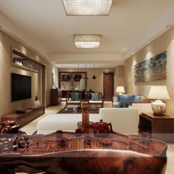 碧海明珠,新中式,140平方,套房