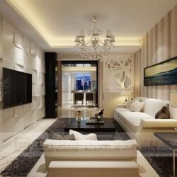 岭南小区,现代风格,120平方,套房