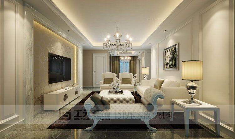 绿城玫瑰园,140平方,简欧风格,套房