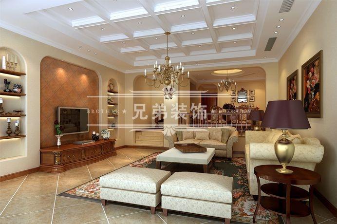 重庆大学城别墅装修公司 龙湖东桥郡联排别墅装修设计案例
