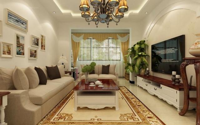 昆明玉器城89平米三室两厅现代风格装修