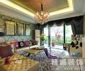 146平现代欧式三室两厅客厅装修效果图