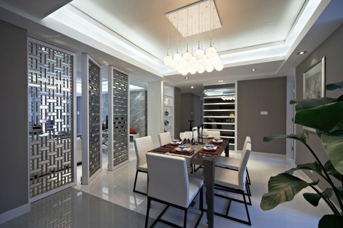 别墅中式风格客厅