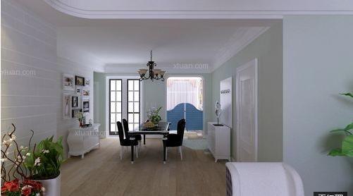 两居室简约风格玄关