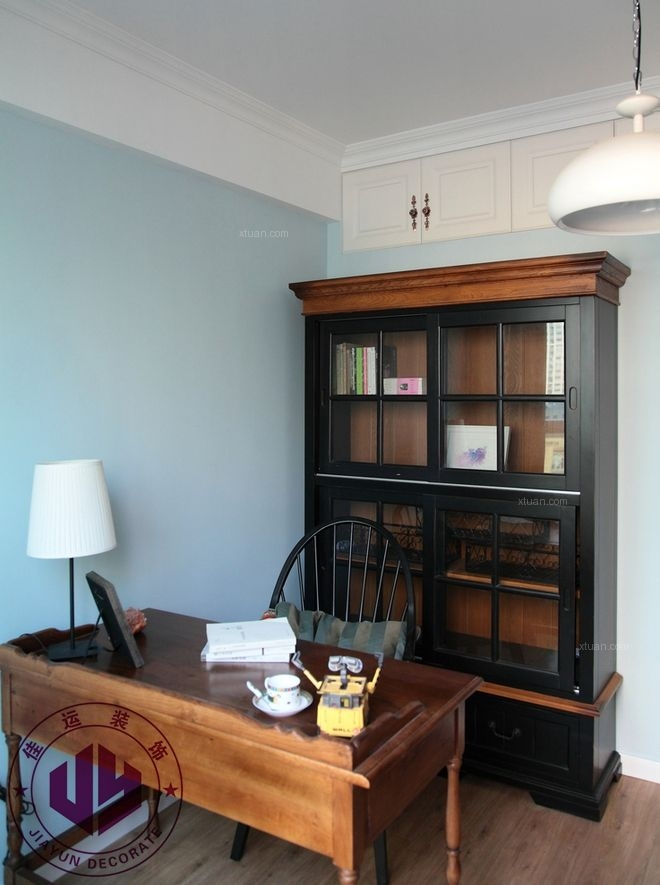 两居室混搭风格书房