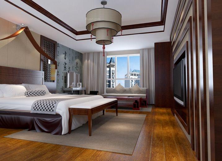 两居室中式风格卧室