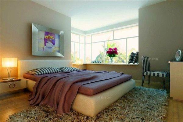 三居室现代简约主卧室