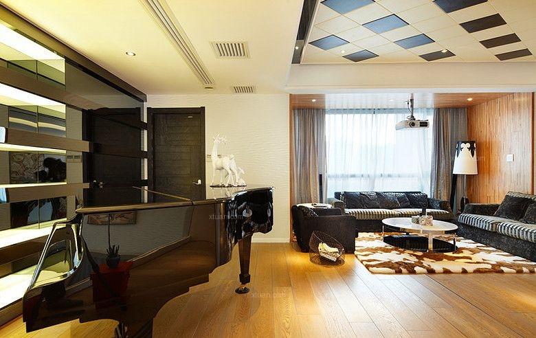 思念果岭442平四室两厅装修效果图
